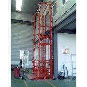 导轨式升降货梯提升货物专用
