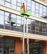 铝合金升降机双立柱式电动