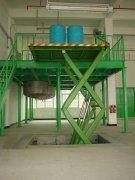 固定剪叉式升降机车间厂房专用