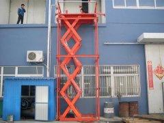 液压剪叉升降货梯