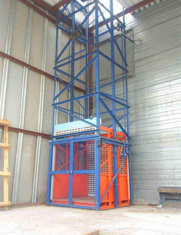 """厂家供应定制液压""""欧力升""""品牌升降货梯 链条式货梯 固定式升降机"""